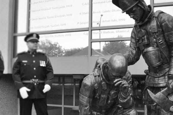 Commémoration des pompiers décédés de Montréal