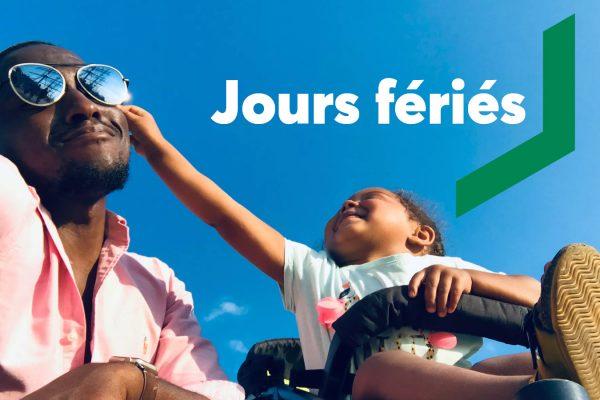 Fêtes nationales : fermeture de la Caisse les lundis 24 juin et 1er juillet 2019