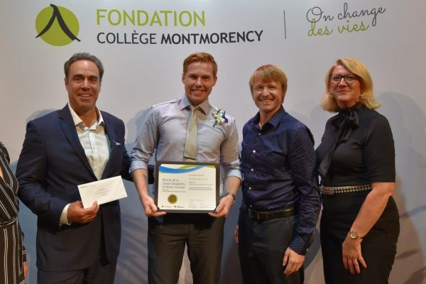 Bourses d'excellence aux étudiants pompiers