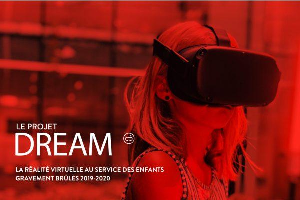 Campagne DREAM – La réalité virtuelle pour atténuer la douleur