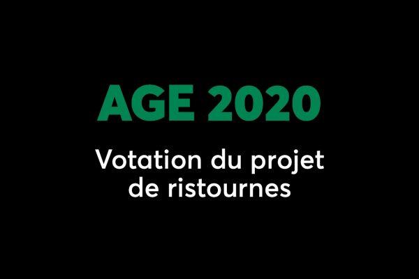 AGE 2020 : C'est le moment de voter pour vos ristournes!