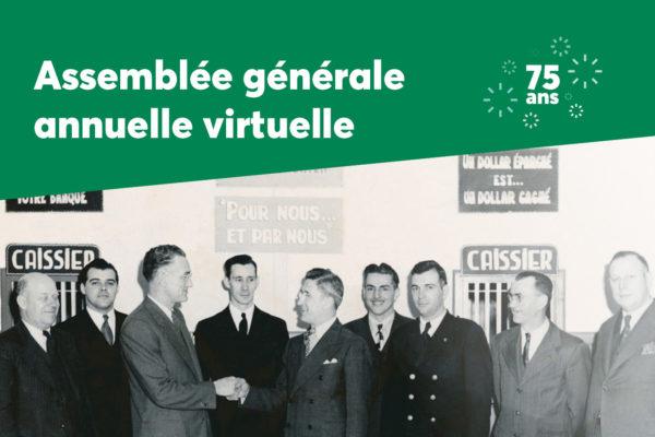Convocation à l'assemblée générale virtuelle